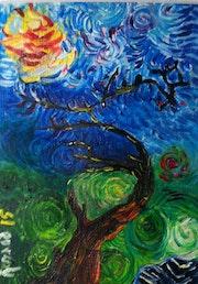 «Le vieil arbre ii», 2015.