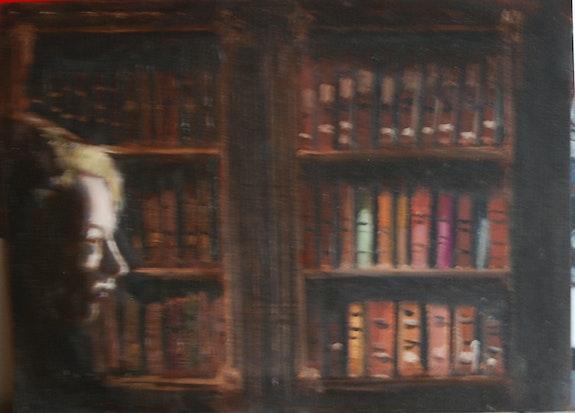La liseuse. Cesar Luciano Cesar Luciano