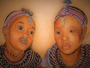Damaris et Abiba femmes d'Umoja.