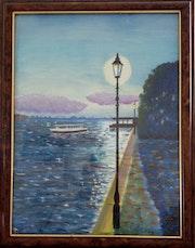 Guidecca Canal Venice.