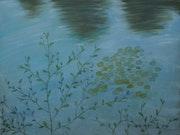 Danse végétale au bord de l'eau.