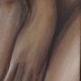Les mains jointes. Xavier Descamps