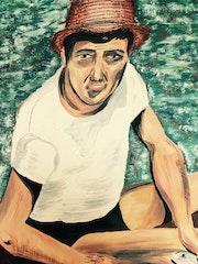 Portrait de Jacques Santarelli (1939-1976) Campomoro 1997.