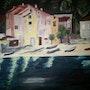 Coté Village vers La Mouette, Campomoro 1995. Santo