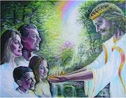 La promesa, de jesus de darnos una corona al llegar al cielo.