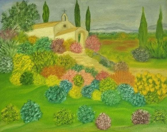 Chapelle Saint Sixte (Eygalières). Gerard Flohic Gerard Flohic