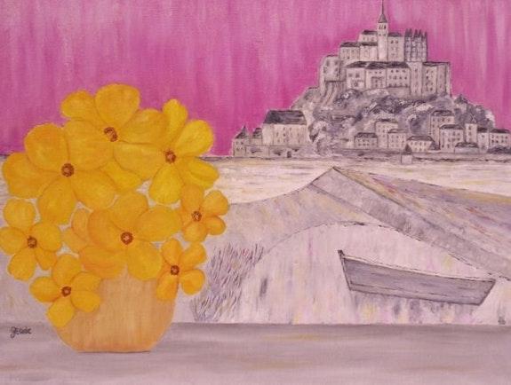 Les fleurs du Mont Saint Michel. Gerard Flohic Gerard Flohic