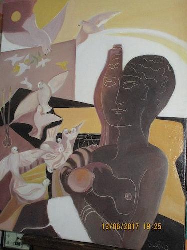 Madone aux touterelles. Jacques Blasco