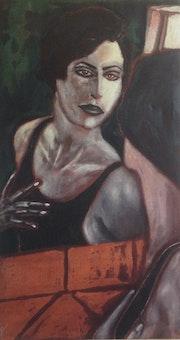 Le miroir. Xavier Descamps