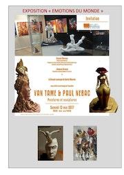 Expo sainte maime 13 mai au 4 juin 2017.