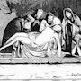 J. C. La mise au tombeau. Raymond Marcel Depienne