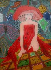 Ambiance aborigène.