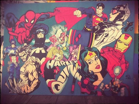 Dessin comics Marvel's. Wolvedrine Sl Wolvedrine Sl