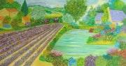 Paysage de Provence.