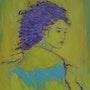 Woman In Blue. Crina Iancau