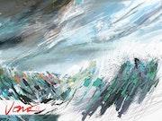Winter Sea. Jono Cappuccino