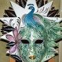 Masque de Venise Le Paon. Monette O'neill
