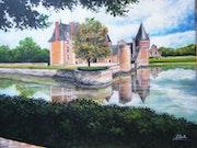 Le chateau du Moulin à Lassay sur croisne.