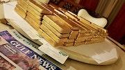 Vente d'or brut en poudre et lingot d'or. Jean Marquis