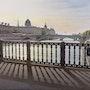 «Contre-jour sur le pont d'Arcole». Thierry Duval