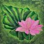 Le lotus. Sylvie Leandre