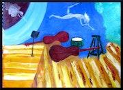 Bass Fiddles and Muses. Gary J. Kirkpatrick