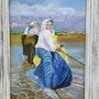 Sacando la barca. Lucía Crespo