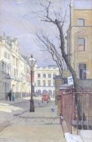 Hereford Square, London, 1914. Modern British Art