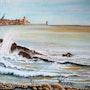 Ressac à Collioure. Christian D'agostino