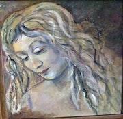Mädchen nach da Vinci.