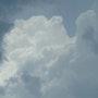 Gewitterwolken. Christian Hamburger