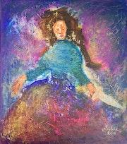 Der Engel zückt den Dolch. Margarita Siebke