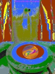 La fontaine des couleurs. Art-Thérapeute