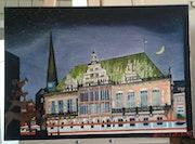 Bremer Rathaus ohne Personen.
