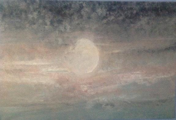 La luna. Aranda Aranda