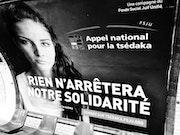 Appel à la tsédaka (aumône) - Affiche in Subway - Novembre 2016.