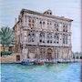 Hotel particulier lagune de Venise. Pierre Monsinjon