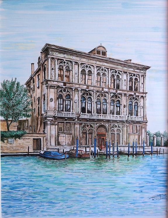 Hotel particulier lagune de Venise. Pierre Monsinjon Pierre Monsinjon