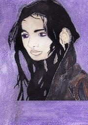 Amerindian beauty. Anne. B
