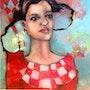 La fille aux carreaux. Diane Rosaz