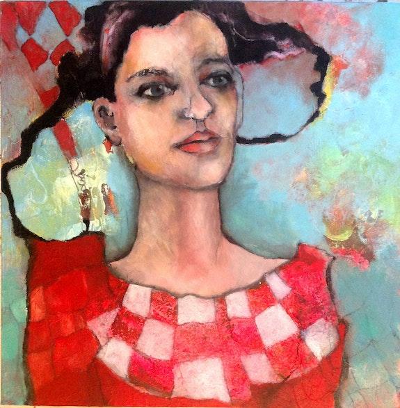 La fille aux carreaux. Diane Rosaz Diane Rosaz