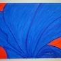 Blue Tulpa. Silvia Stanat