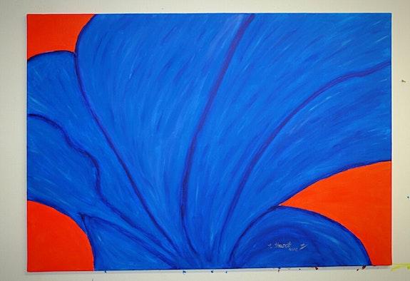 Blue Tulpa. Silvia Stanat Silvia Stanat