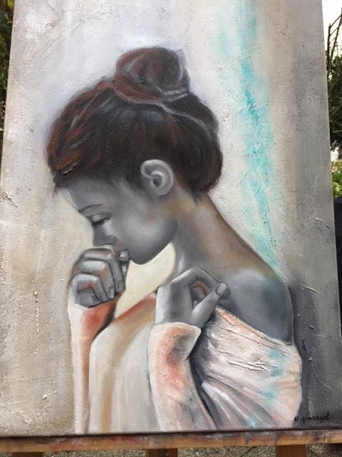 La jeune fille.  Nicole Armengol