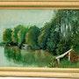 L'étang de Nogent / Vernisson.. Annick Guillard