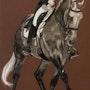 Seul un cavalier capable de s'effacer sur le dos de son cheval peut le sublimer. Zelmi Fine Art