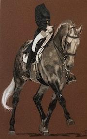 Seul un cavalier capable de s'effacer sur le dos de son cheval peut le sublimer.