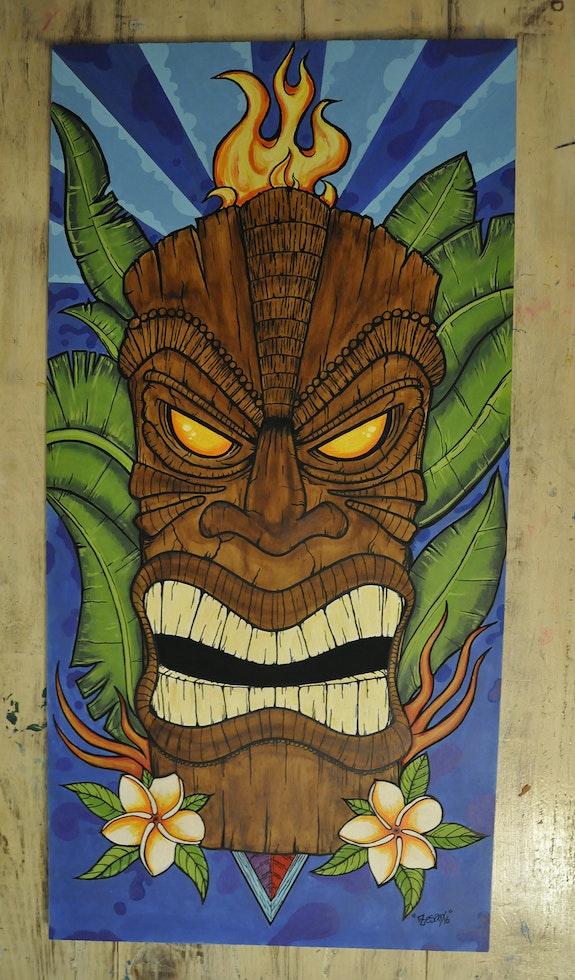Hawaiian Mask. Zesar Zesar