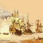 Prise de Porto Bello. Raymond Marcel Depienne
