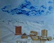 Station de ski de Merlette (Hautes Alpes).
